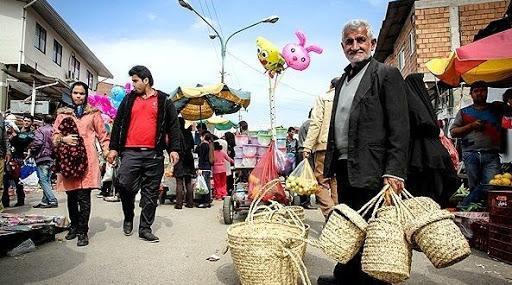باز بودن بازار های مازندران در روز های دوشنبه و چهارشنبه