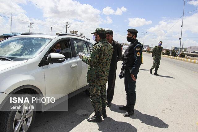 مسیرهای منتهی به تفرجگاه های استان فردا تحت کنترل شدید نیروی انتظامی، فعال بودن جایگاه های سوخت
