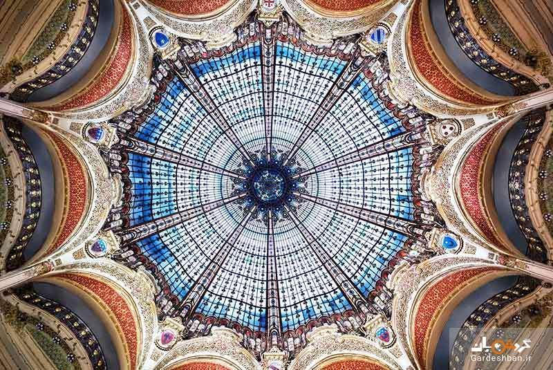 گالری لافایت، معروف ترین و لوکس ترین مرکز خرید پاریس، عکس