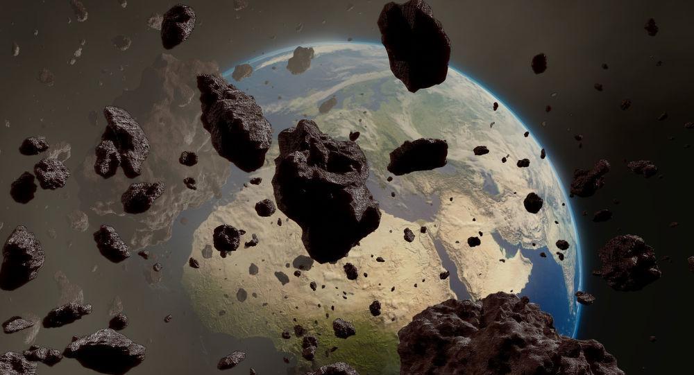 سقوط 40 هزار تن ذرات فضایی به زمین