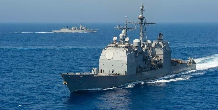 رزمایش دریایی یونان با آمریکا