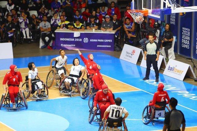 کمبود ویلچر، مشکل بسکتبال زنان