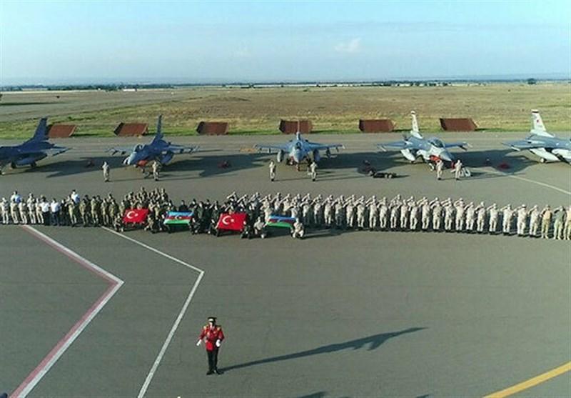 ورود جنگنده های ترکیه به جمهوری آذربایجان