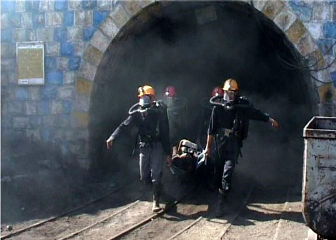 خبرنگاران حال عمومی تنها مصدوم حادثه ریزش معدن هجدک استان کرمان مساعد اعلام شد