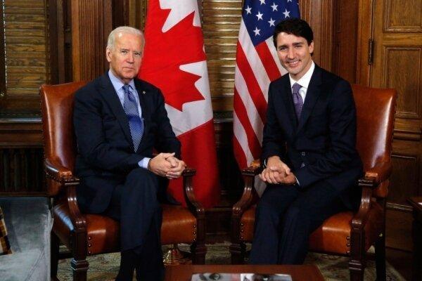 نخست وزیر کانادا با جو بایدن مصاحبه کرد