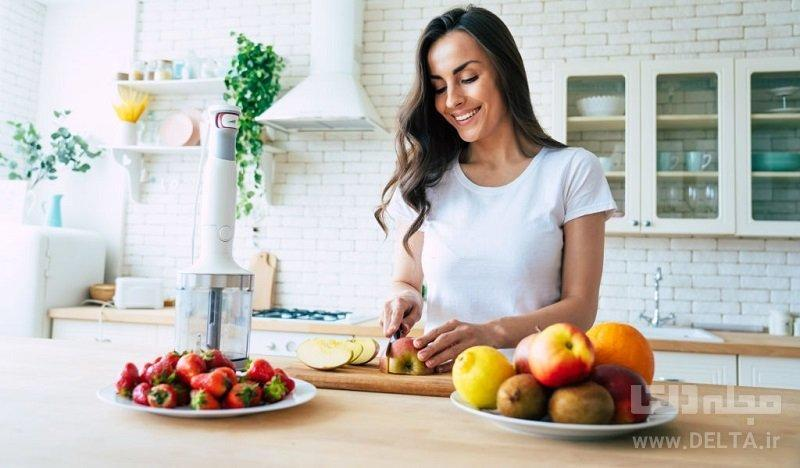 کاهش استرس با تغذیه سالم
