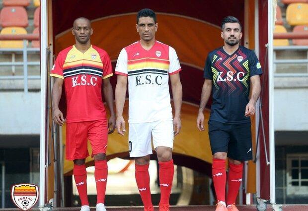 رونمایی از شعار و کیت جدید تیم فوتبال فولاد خوزستان