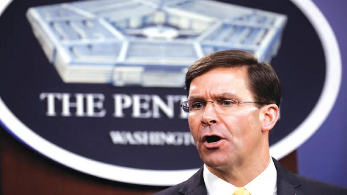 تکذیب خبر استعفای وزیر دفاع آمریکا