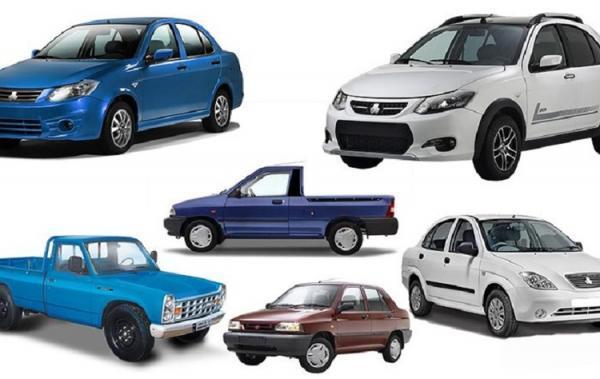 قیمت خودرو های سایپا، پراید و تیبا 20 دی 99