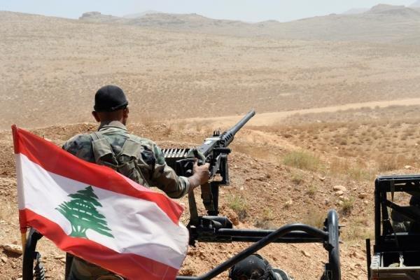 تداوم اقدامات ارتش لبنان علیه داعش در عرسال