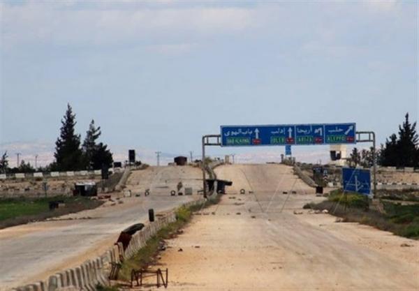 افتتاح گذرگاه ترنبه در حومه ادلب
