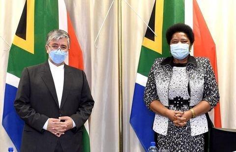 رایزنی سفیر ایران با معاون وزیر خارجه آفریقای جنوبی