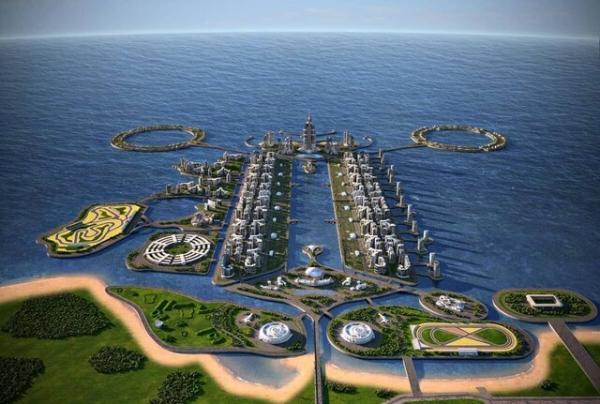 تمایل سرمایه گذاران قطری و بحرینی برای احداث جزیره مصنوعی در دریای خزر