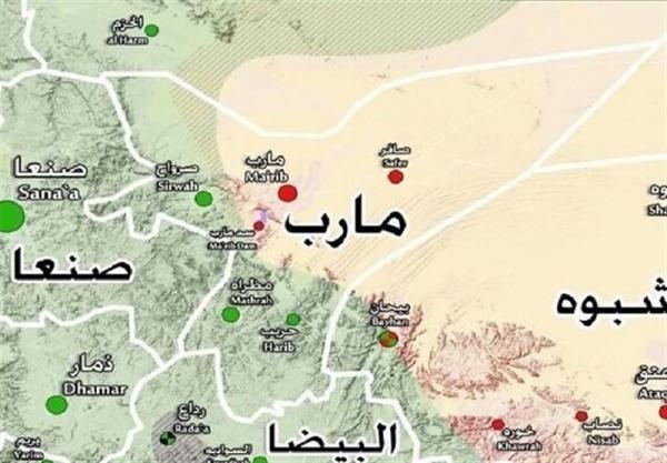 نیروهای انصارالله یمن در آستانه تسلط بر پایگاه راهبردی صحن الجن