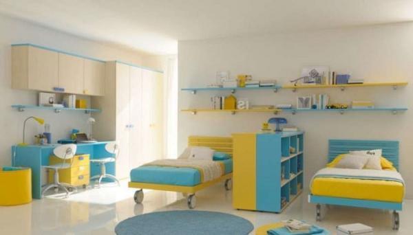 کمد دیواری اتاق کودک و نوجوان؛ 25 مدل جدید و بسیار زیبا