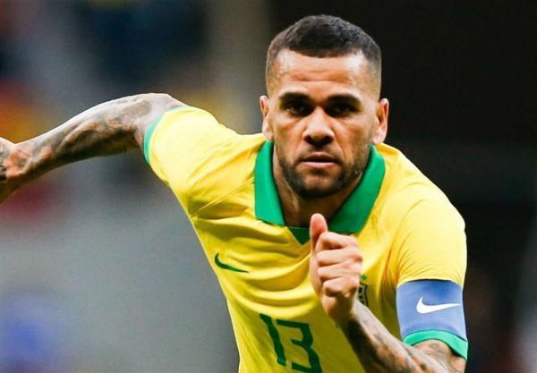 بازگشت دنی آلوز به تیم ملی برزیل پس از 2 سال