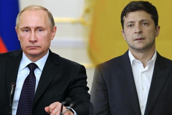زلنسکی دعوت برای دیدار با پوتین در مسکو را رد کرد