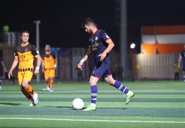 لیگ برتر فوتبال، پیروزی نساجی مقابل مس رفسنجان در نیمه اول