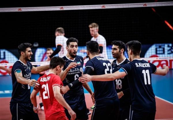 لیگ ملت های والیبال، تمرین ملی پوشان در سلامت کامل