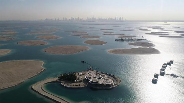 پروژۀ قلب اروپا در آب های دبی؛ سرگرمی گاهی لوکس برای گردشگران